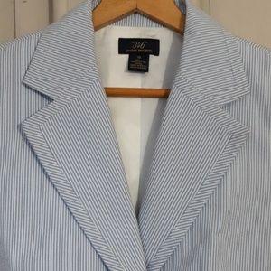 """346"" Brooks Brothers , Seersucker  blazer"